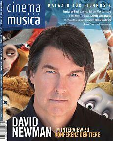 Titelseite Cinema Musica Ausgabe 21