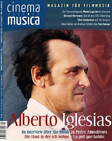 Titelseite Cinema Musica Ausgabe 25