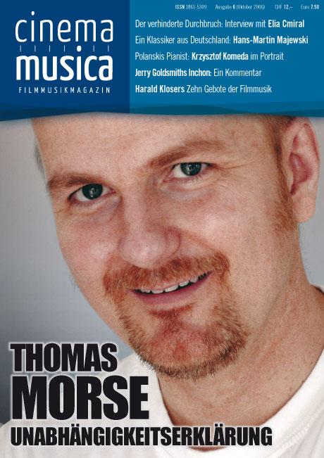 Titelseite Cinema Musica Ausgabe 6