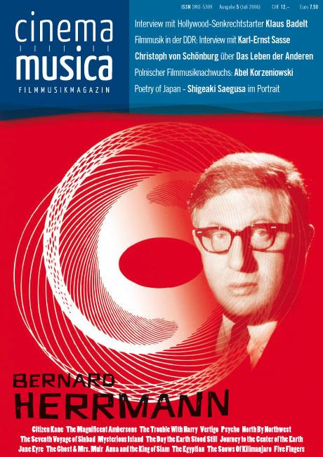 Titelseite Cinema Musica Ausgabe 5