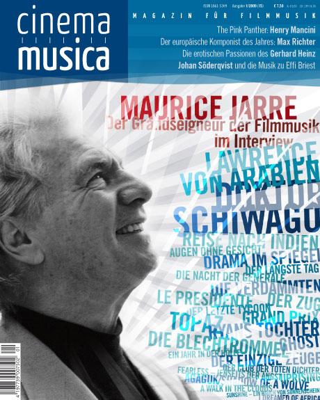Titelseite Cinema Musica Ausgabe 15