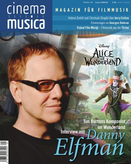 Titelseite Cinema Musica Ausgabe 19