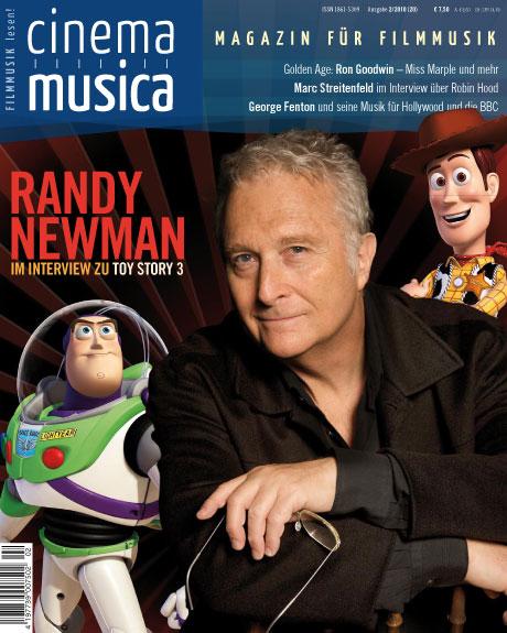 Titelseite Cinema Musica Ausgabe 20