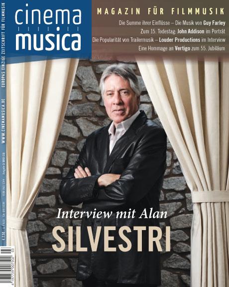 Cinema Musica Ausgabe 33 Titelseite
