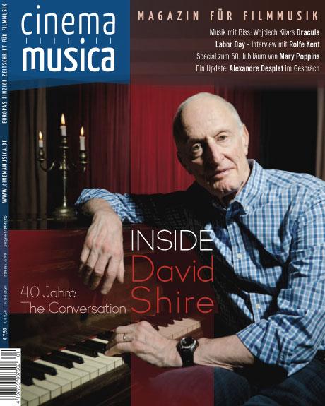 Titelseite Cinema Musica Ausgabe 35