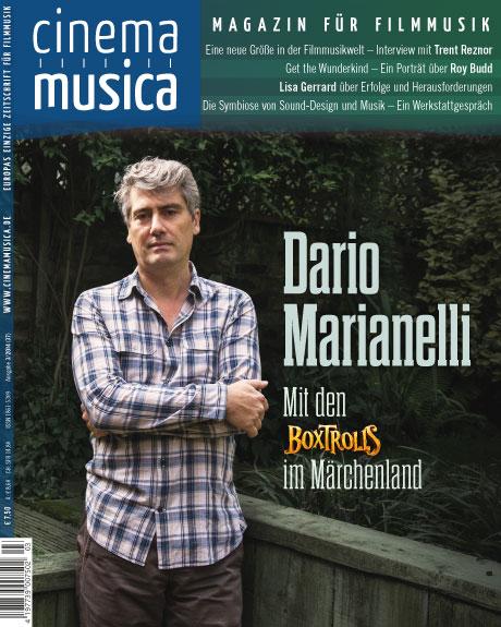 Titelseite Cinema Musica Ausgabe 37