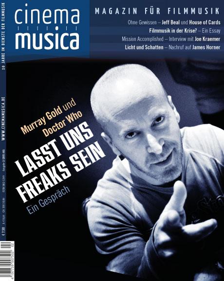 Titelseite Cinema Musica Ausgabe 40