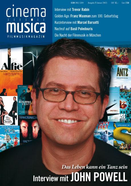 Titelseite Cinema Musica Ausgabe 7