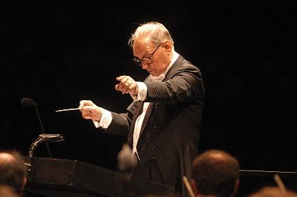 Ennio Morricone Dirigiert In Wien Cinema Musica